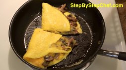 Easy Mushroom Onion & Cheese Omelet.jpg
