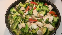 Healthy Chicken Vegetable Prima Vera