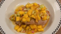Pork Chops with Mango Relish Step By Step Chef