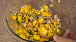 Thai Mango Salad Step By Step Chef