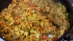 Yellow Curry Fried Rice Easy Recipe