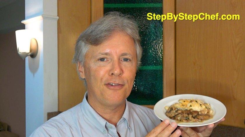 Tilapia with Zesty Mushrooms, Shallots & Lemon Sauce